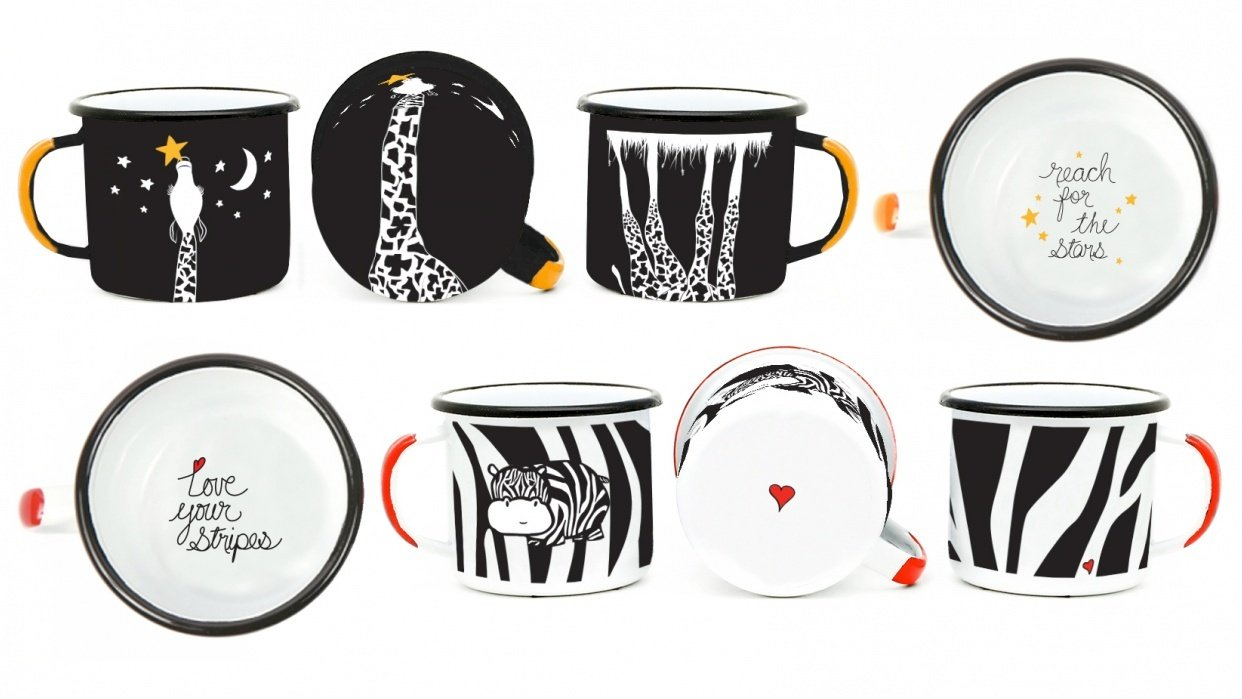 Zebra Stripes and Stars - student project