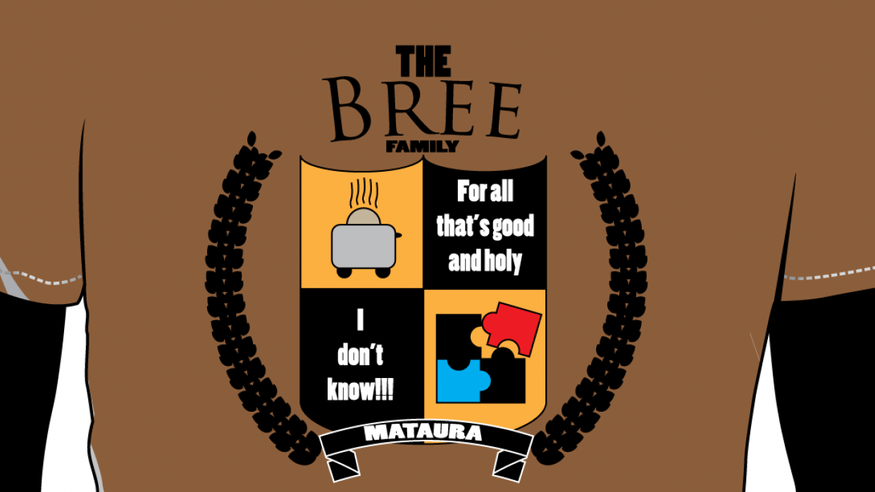 Bree Family Crest - student project