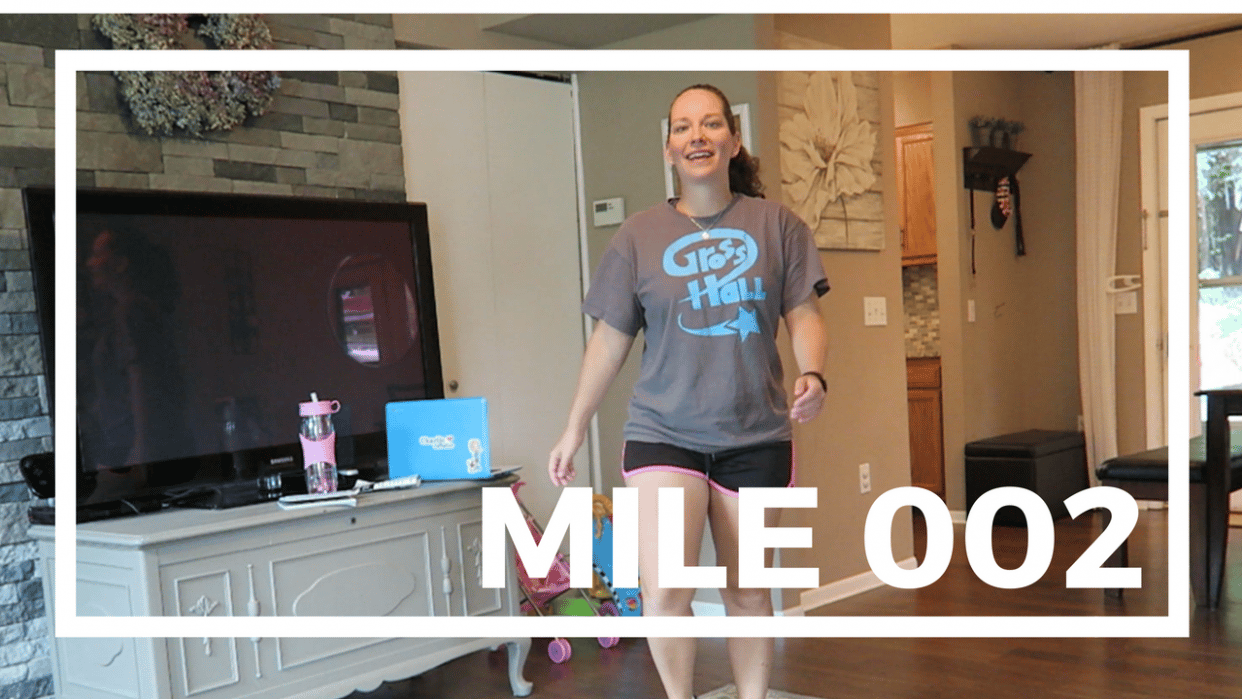 Walk 100 Miles on YouTube - student project