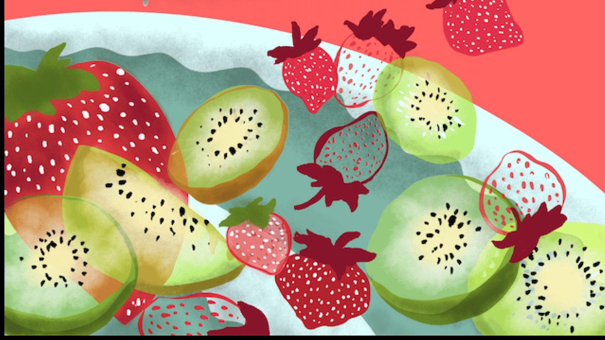 Yogurt fruity popsicles! - student project