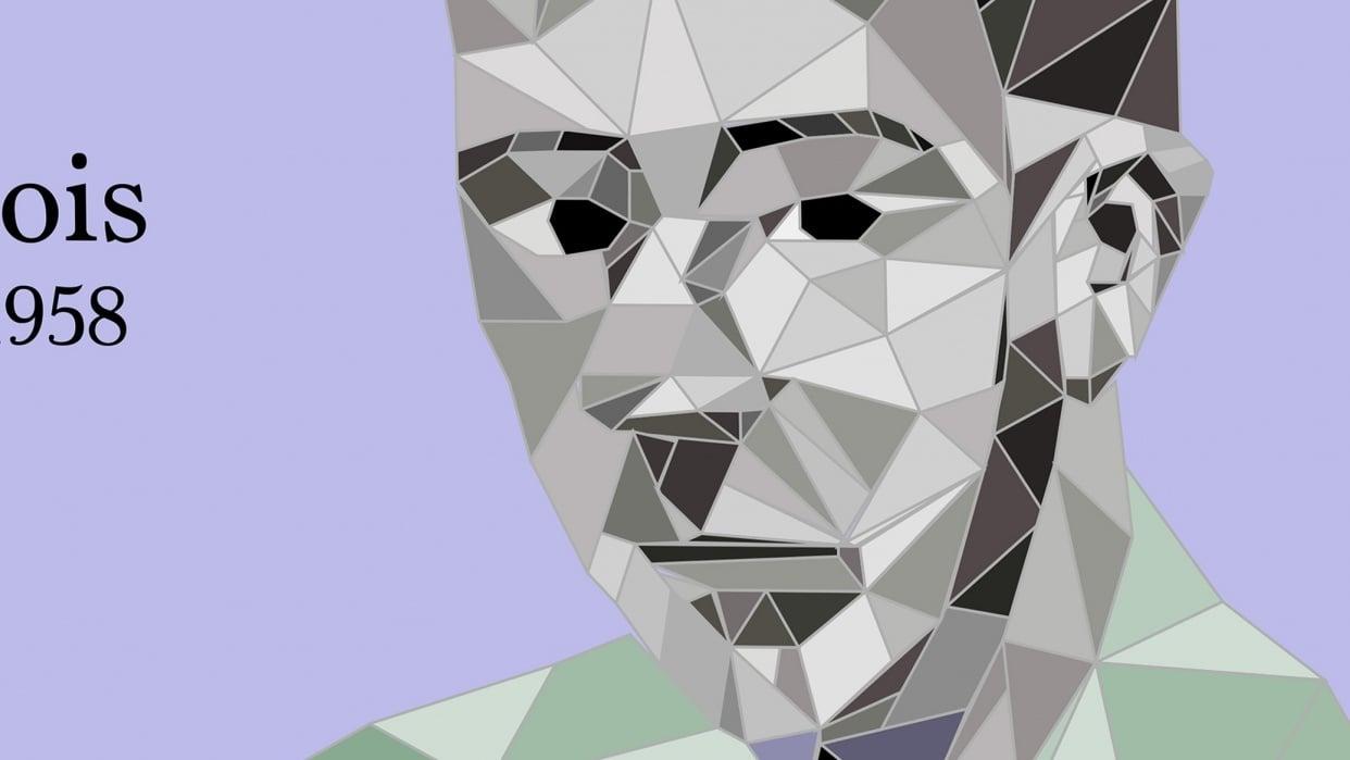 Polygon Portrait - student project