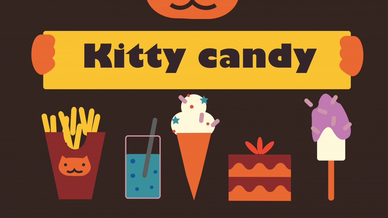 Kitty Candy - student project