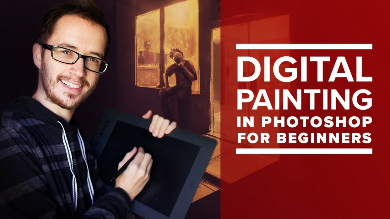 [PUBLISHED] A New ART Medium - Digital Painting In Photoshop for Beginners - student project