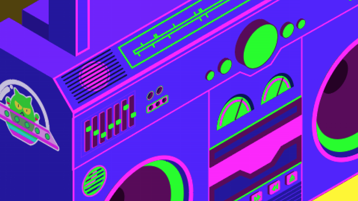 Boombox - student project