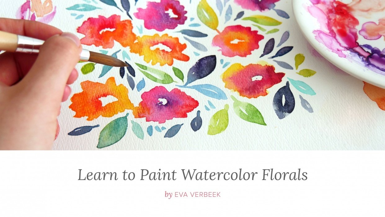 Learn to Paint Watercolor Florals (Update: Published!) - student project