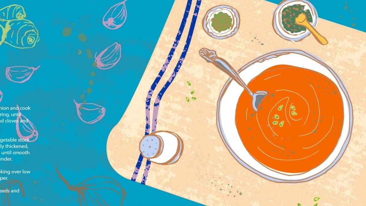 Veloute Pumpkin Soup - student project