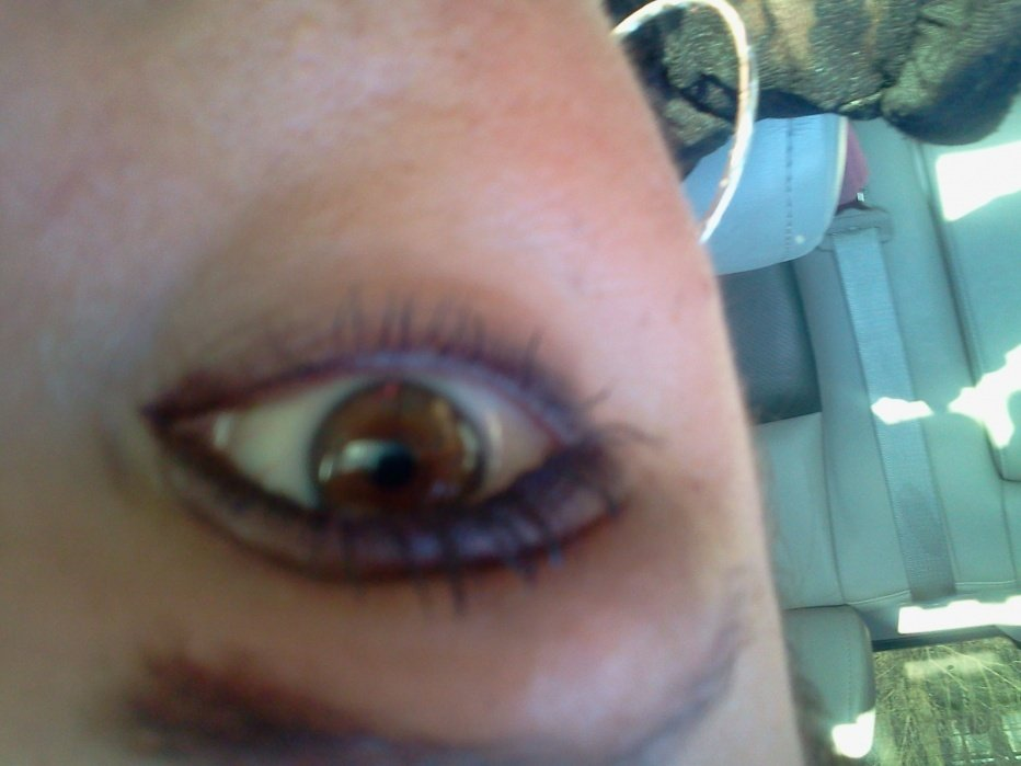 Daytime smoky eye - student project