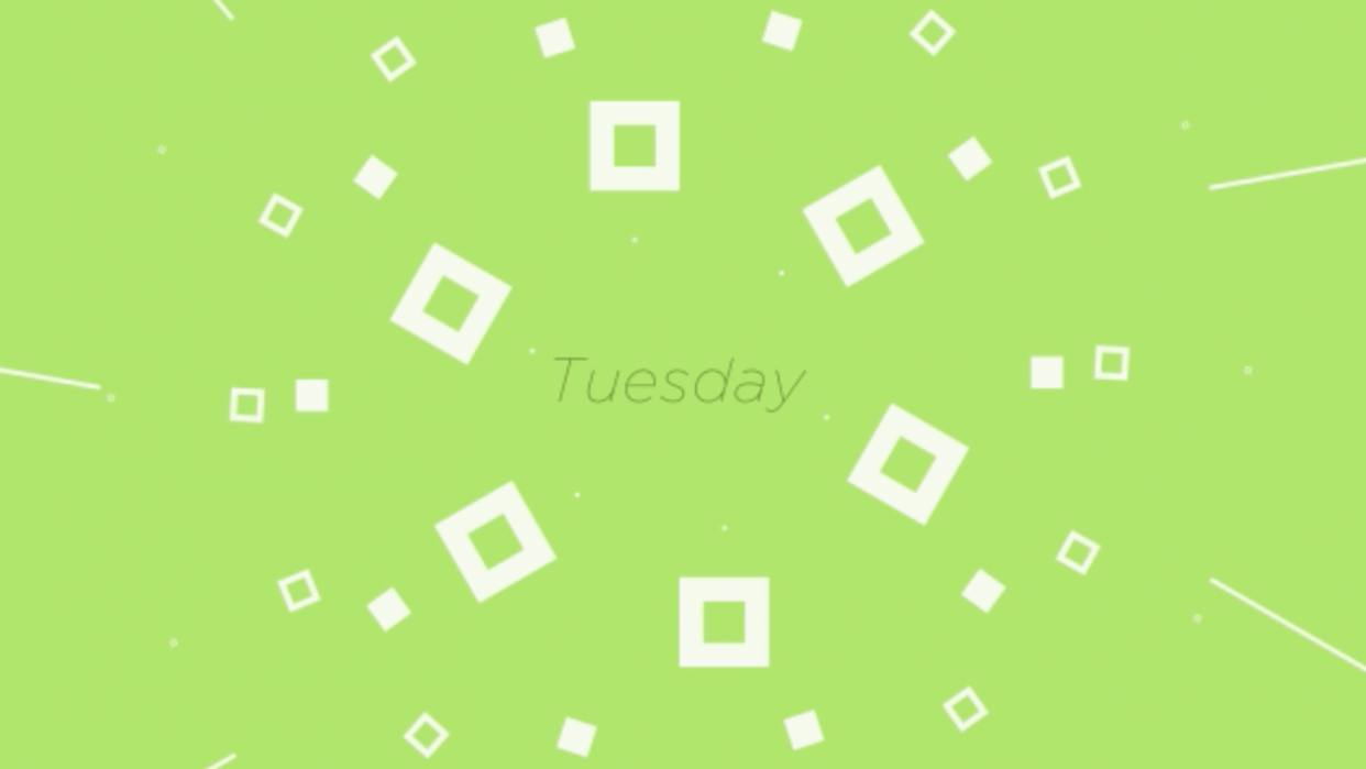 Days of the Week - student project