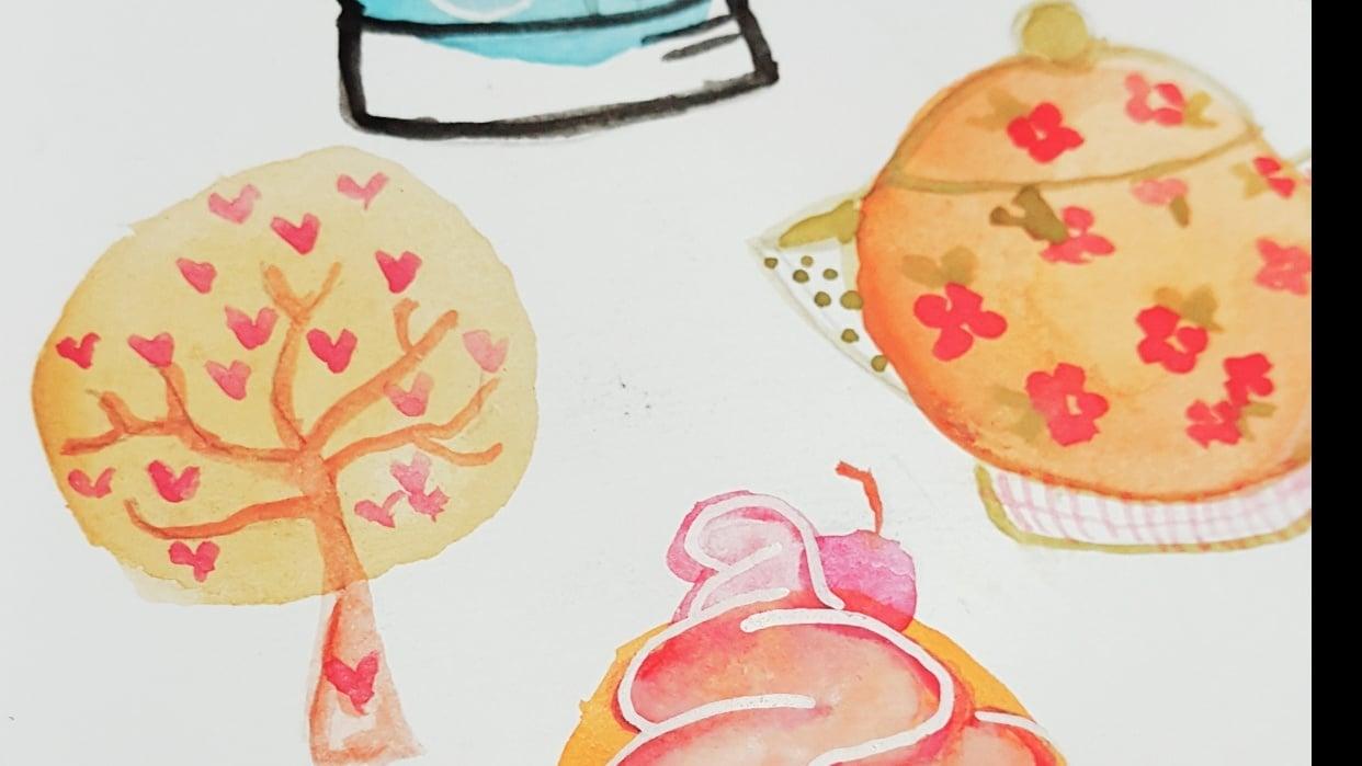 Mis circulos ilustrados - student project