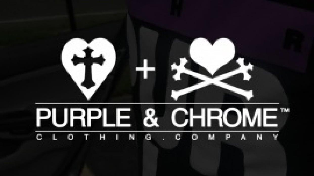 Purple & Chrome - student project