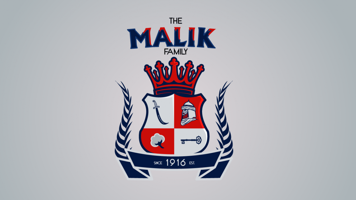 The Malik Family - student project