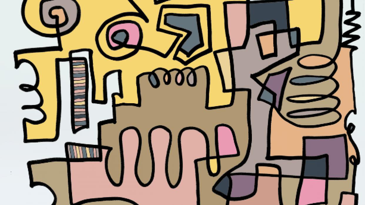 Pastel Doodle - student project