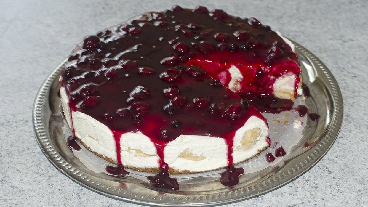 Cream Puff Cake - student project