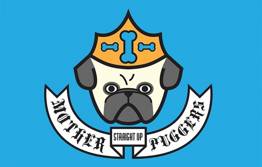 Mother Puggers - T-Shirt design for fun and fundraising - student project