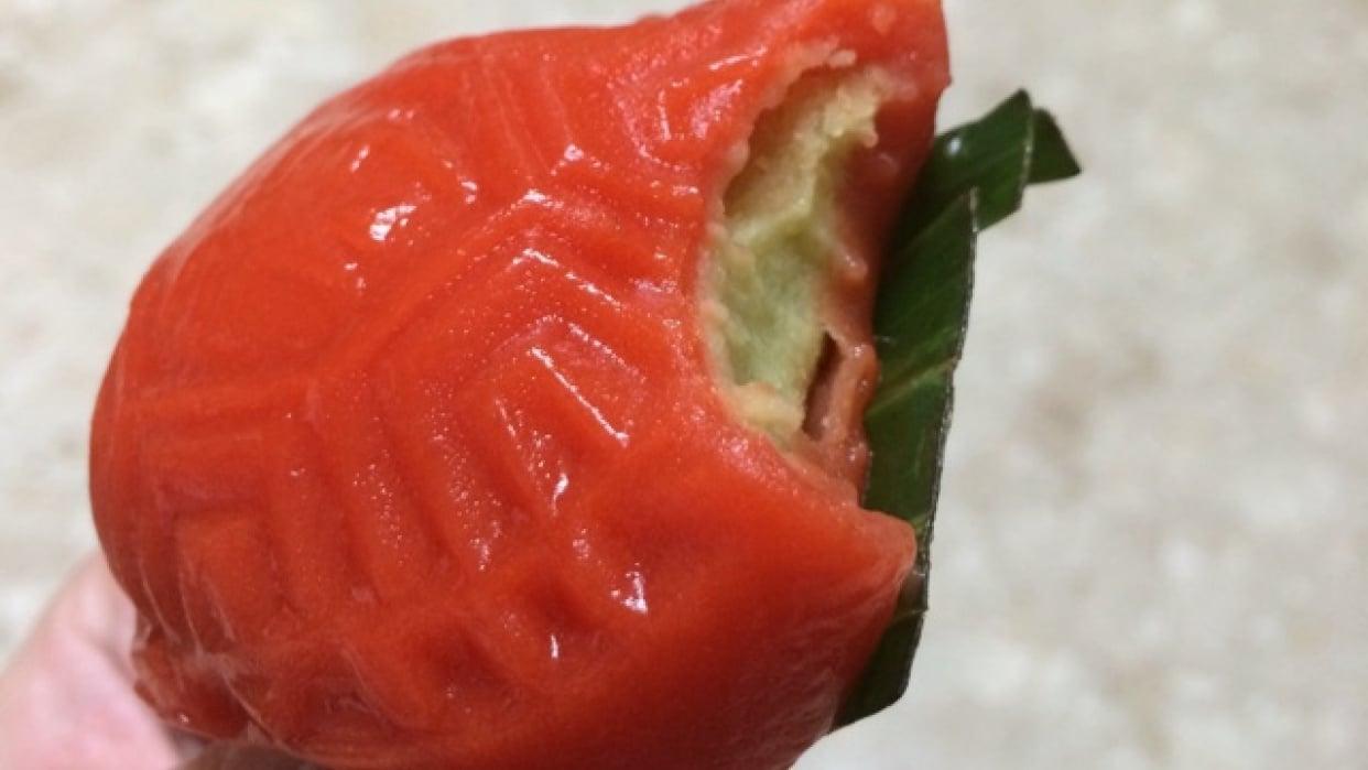 Chinese Desser: Ang Ku Kueh (Red Tortoise Cake) - student project