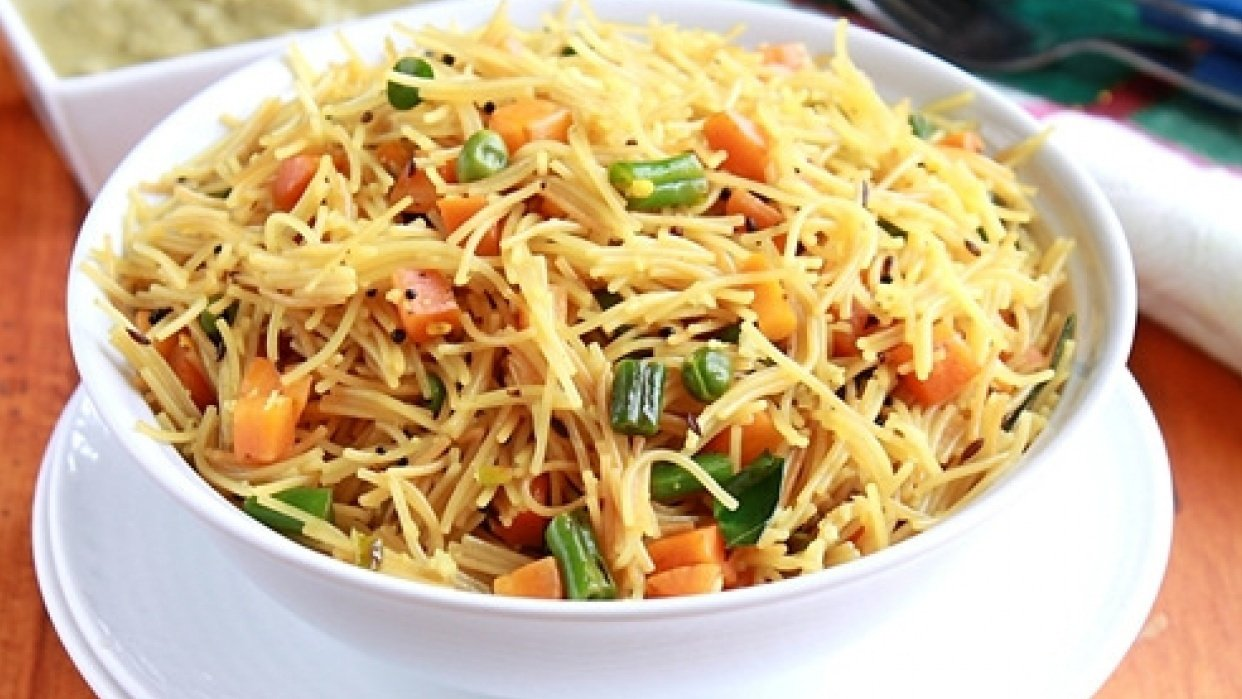 How to cook 'Healthy Vermicelli' ? - student project
