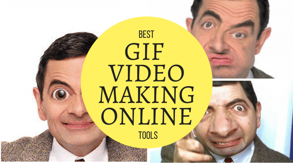 Best online tools for GIF VIDEO CREATION for FREE - student project