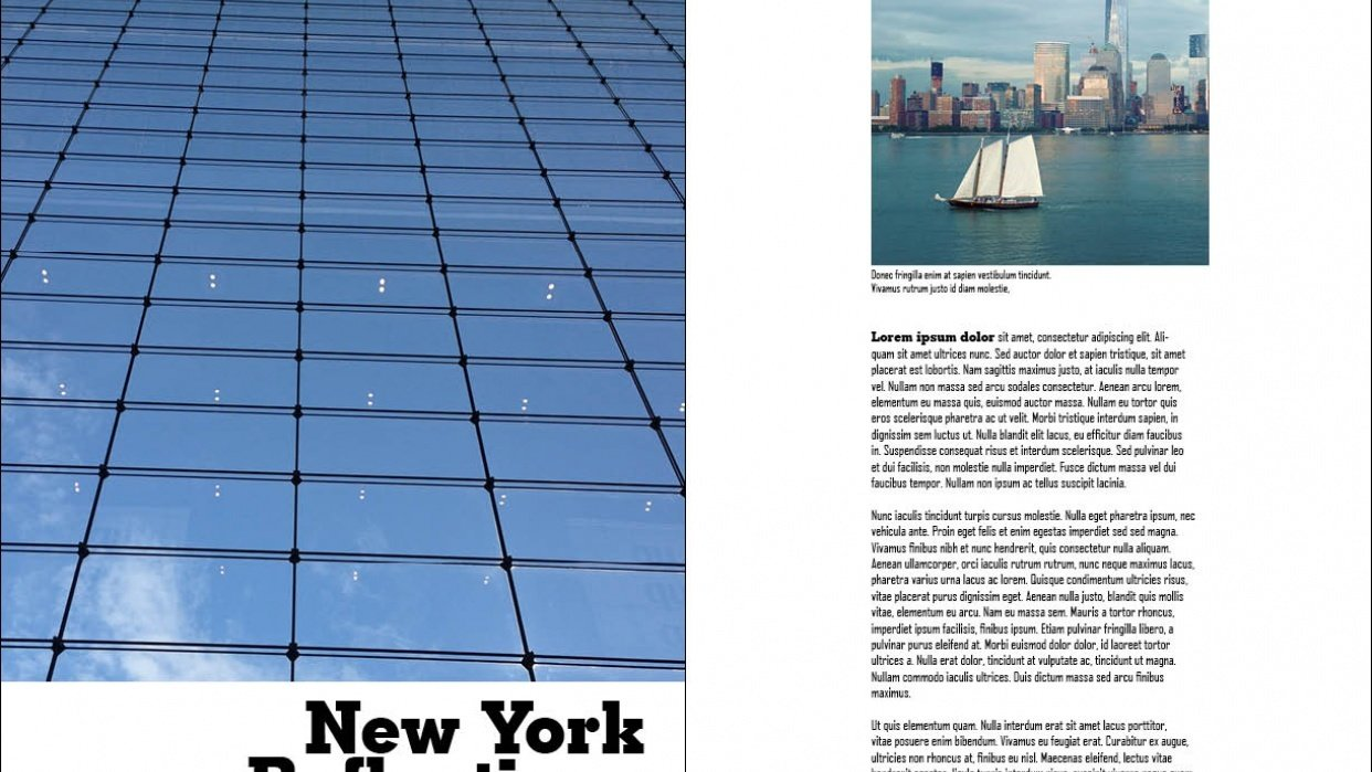 New York Reflections - student project