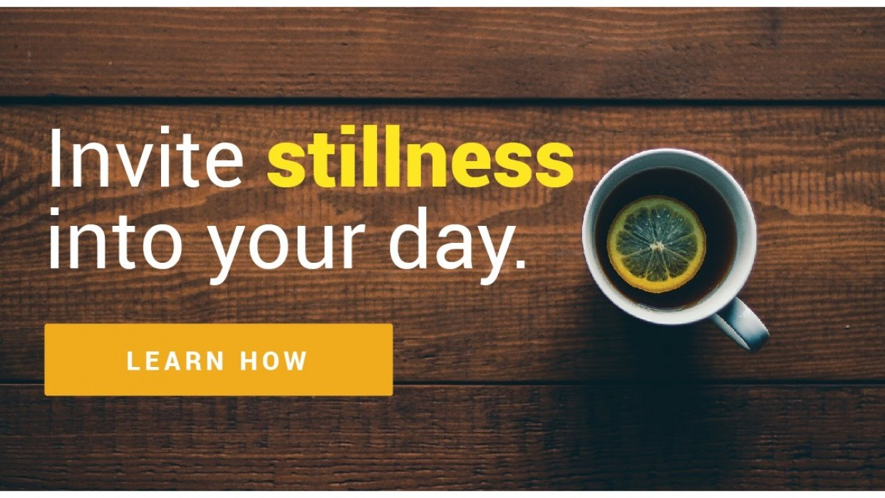 Saying Yes To Stillness: 10 Days To Getting Comfortable With Meditation - student project