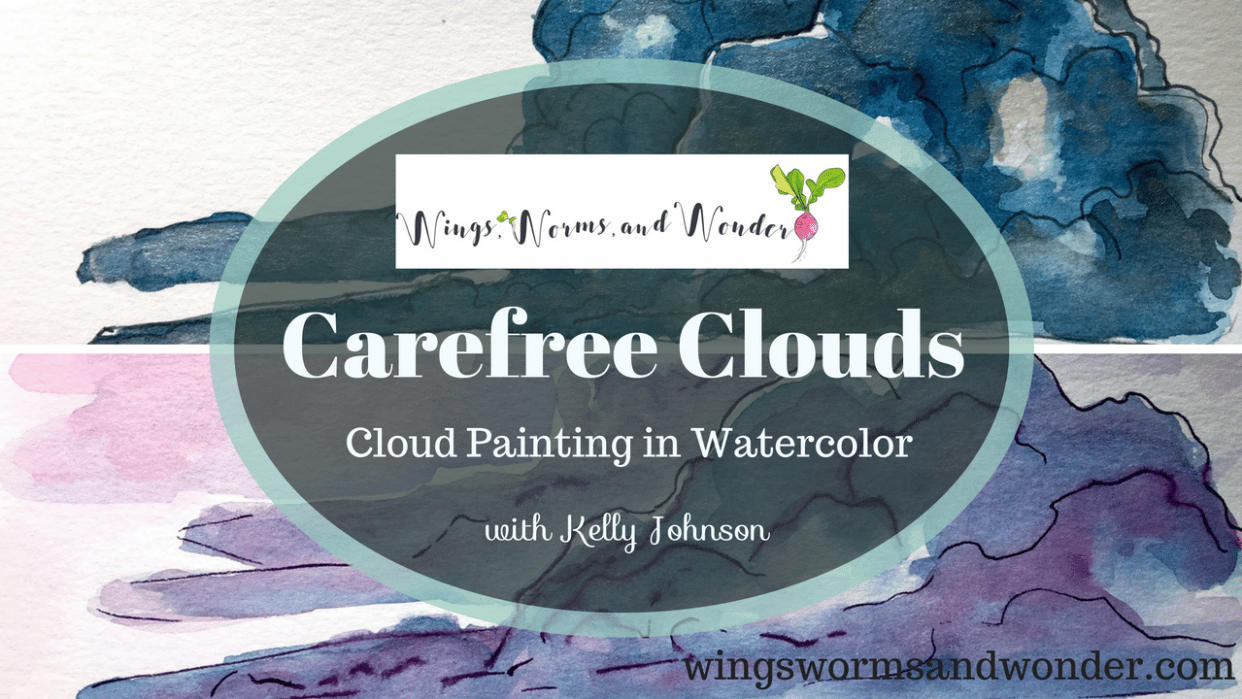 Carefree Clouds: Cloud Painting with Watercolor - student project