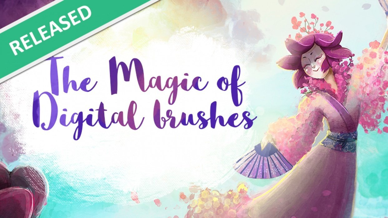 The magic of digital brushes [AVAILABLE FOR FREE!] - student project