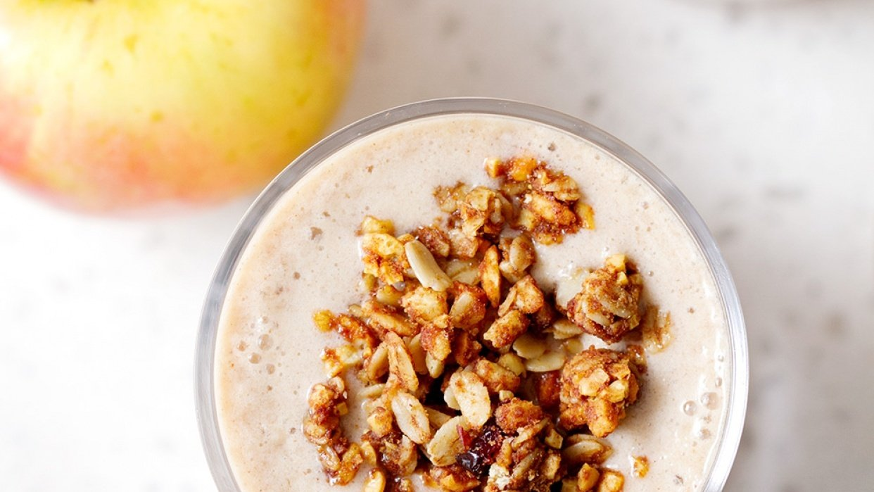 Apple PIe Smoothie - student project