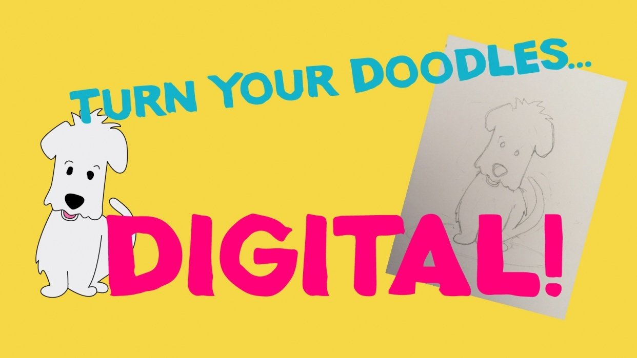 Turn your doodles into digital - student project