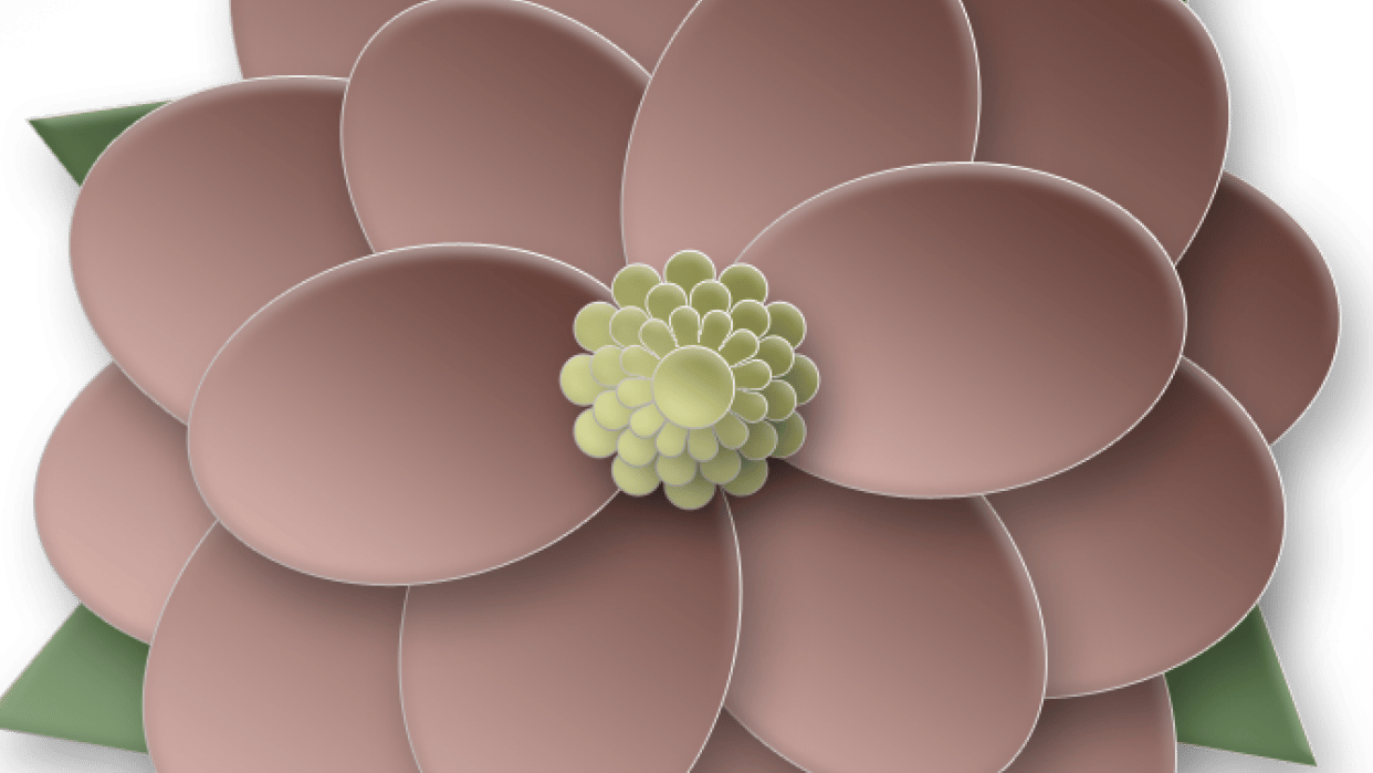 Fun flower - student project
