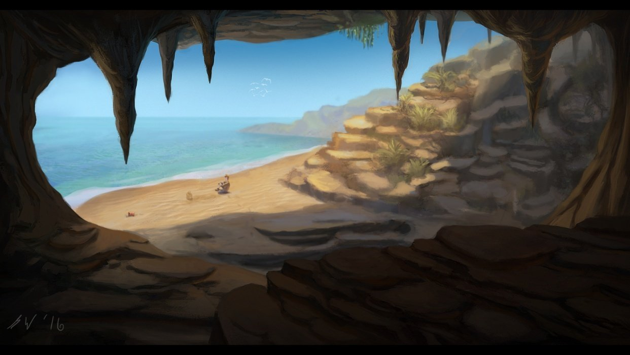 Cave/Beach - student project