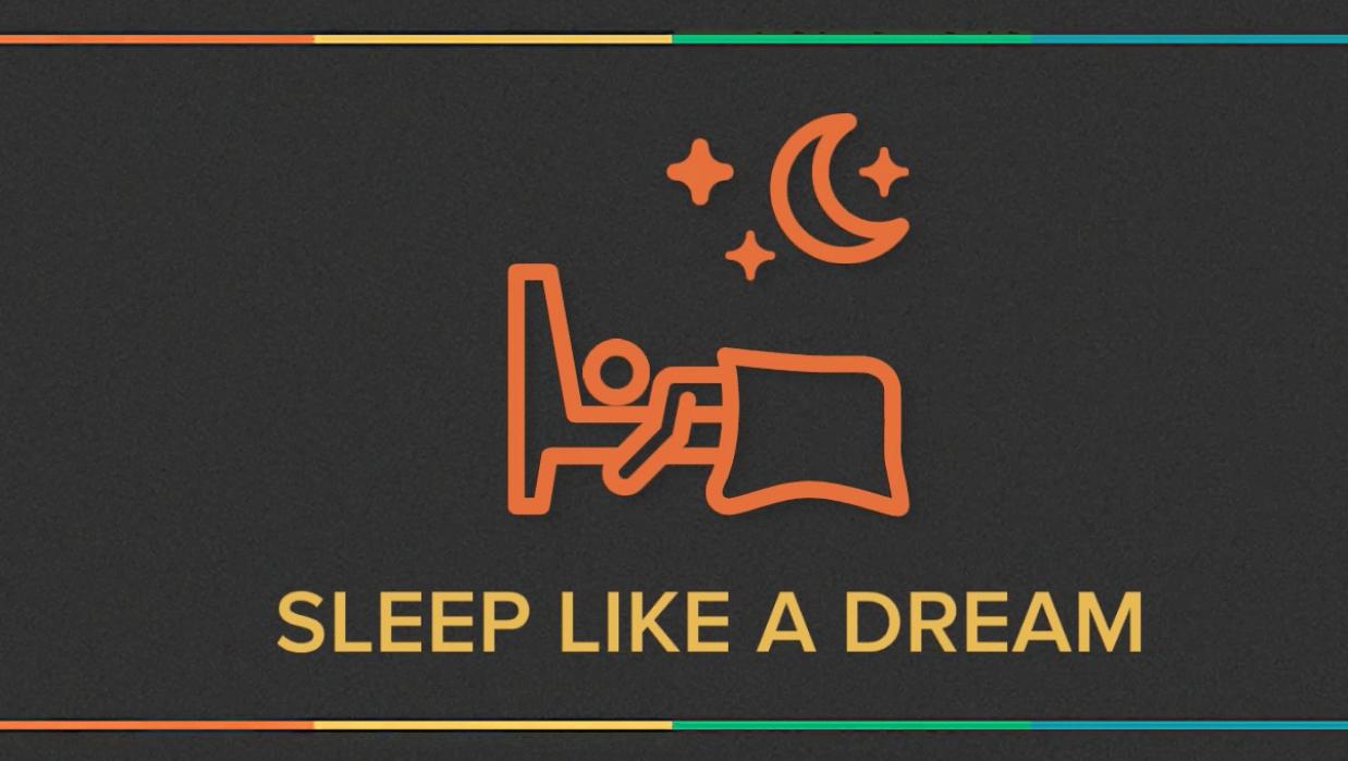Sleep Like A Dream...! SEE HOWww ( wuhooo... 100 Enrolments in 4 days ) - student project