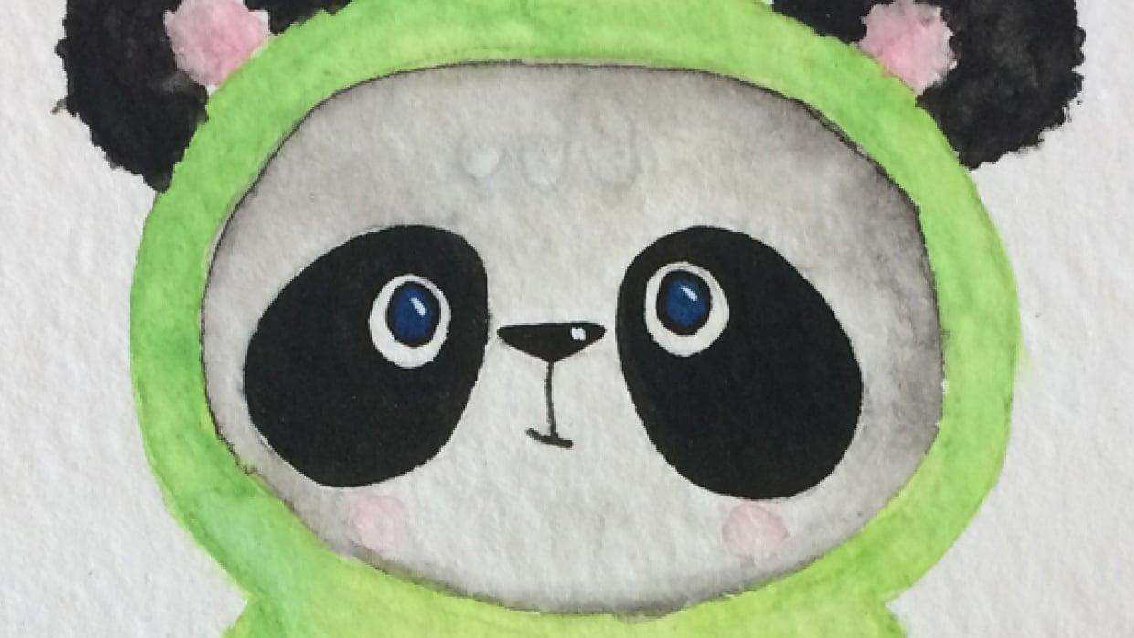 Panda Nesting Doll - student project