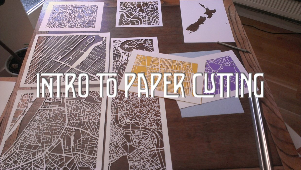 Cut it out!: an introduction to paper cutting  - student project