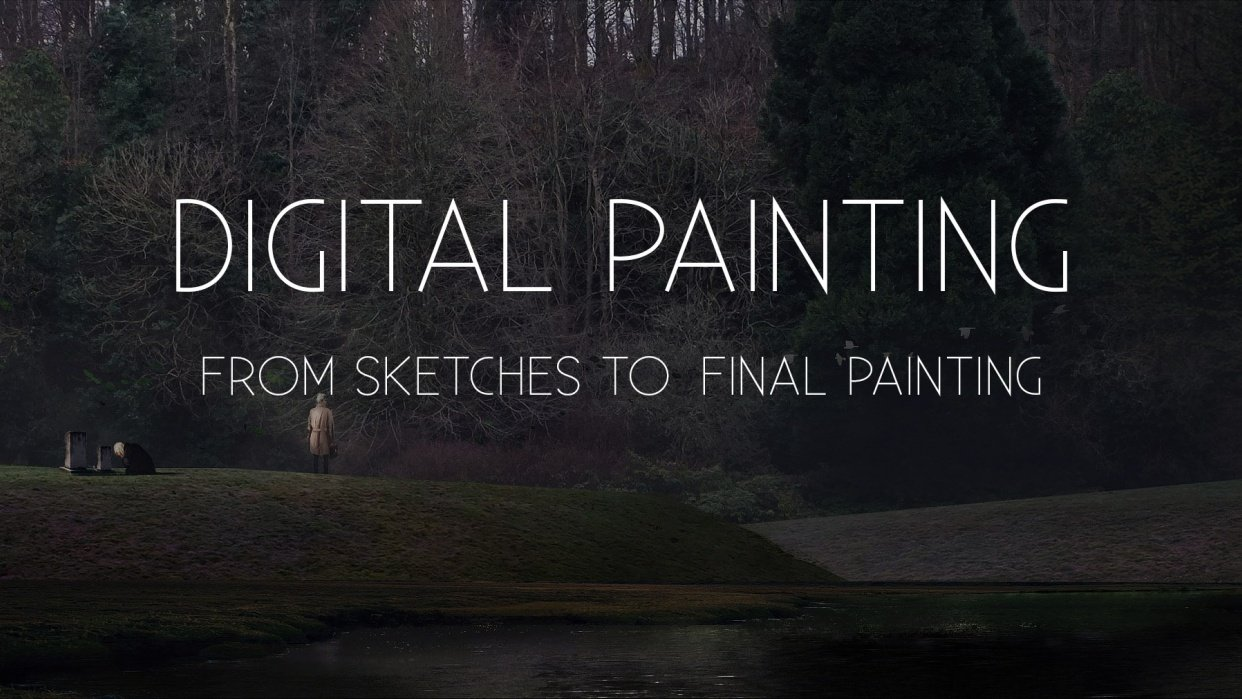 Digital Painting: From Sketch To Final Painting - student project