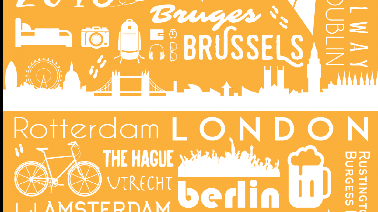 Travel 2016 Poster - student project