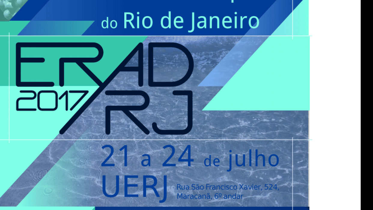 Poster for the Third Regional School of High Performance of Rio de Janeiro - student project