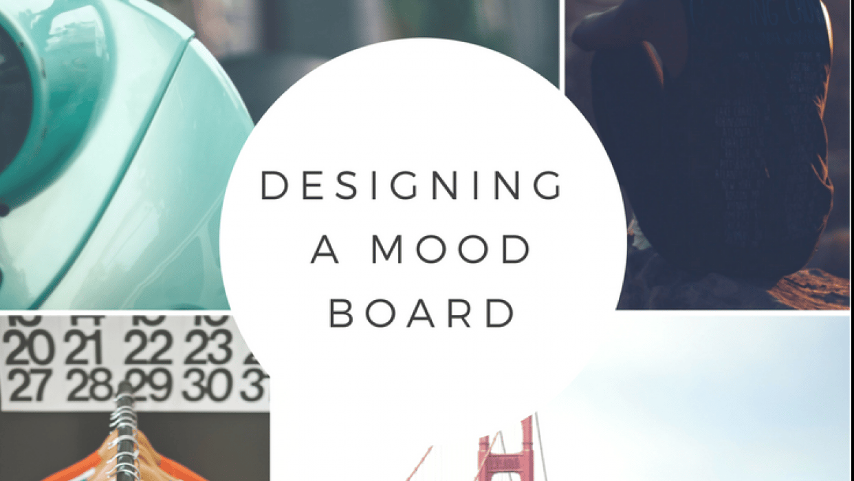 Creating A Mood Board To Brand Your Business - student project