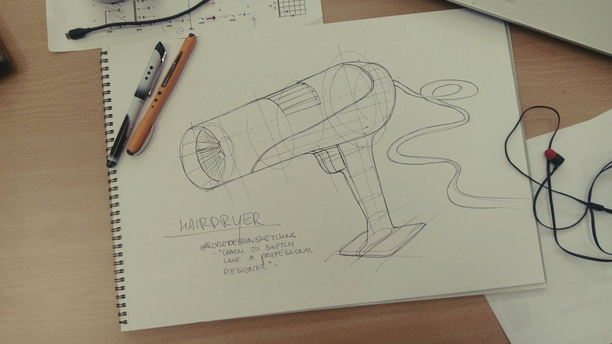 My hairdryer - student project