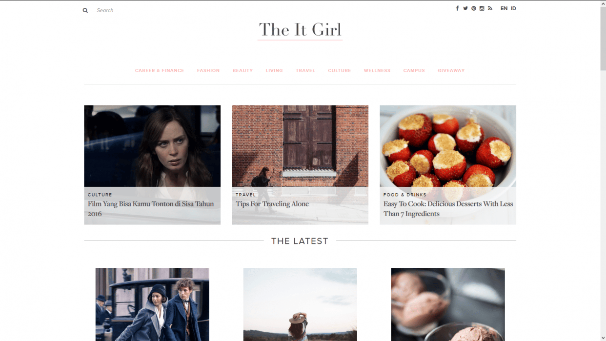 The It Girl - Be the girl you want to be - student project