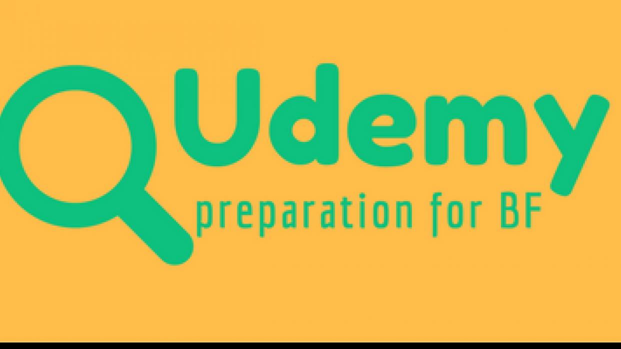 Updating Udemy courses  - student project