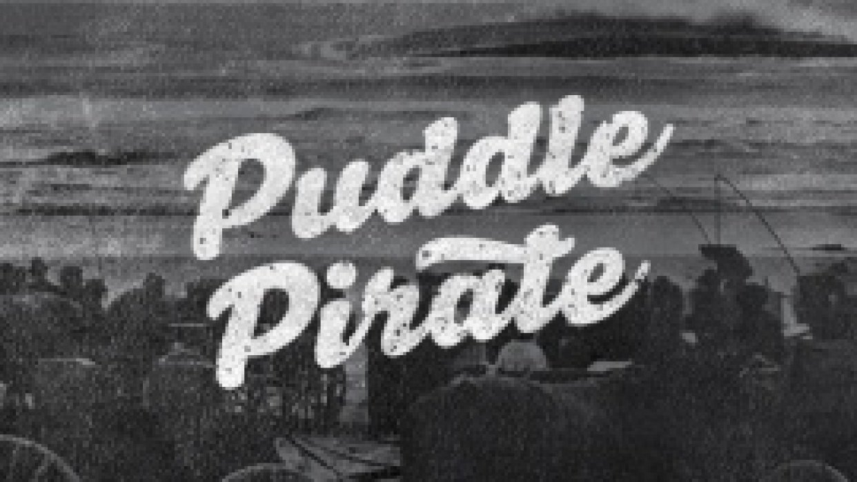 Puddle Pirate Shirt Design - student project