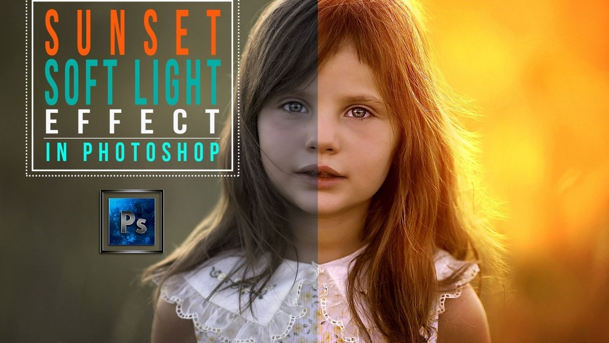 Sunset Soft Light effect- My Before After Result - student project