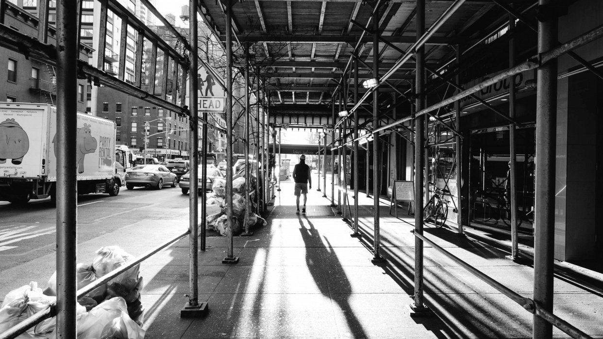 Manhattan in Black and White - student project