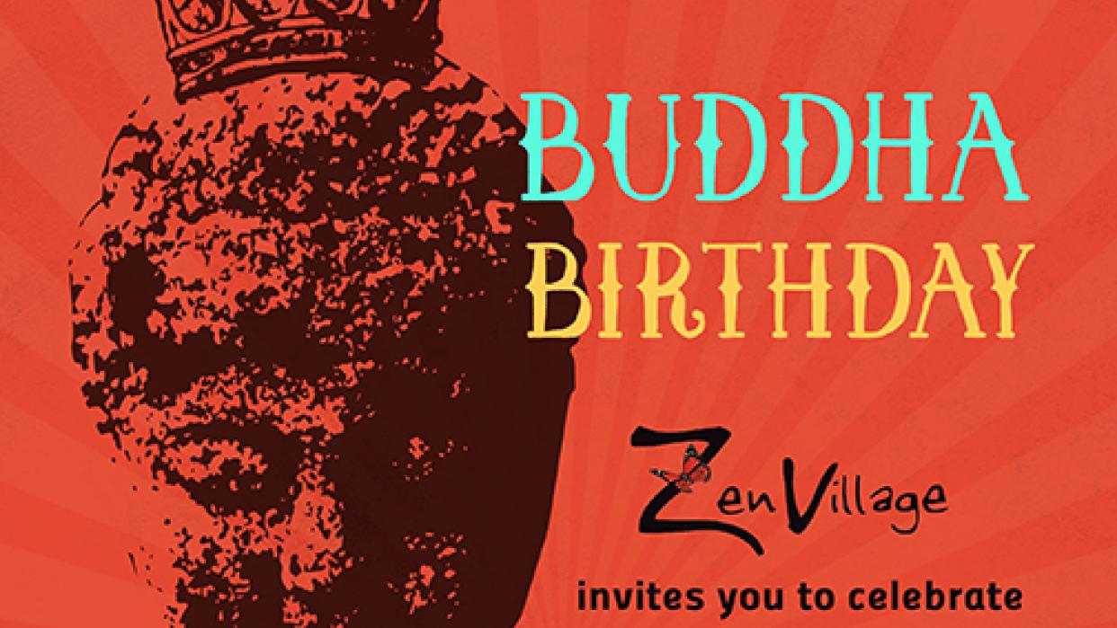 Buddha Birthday Poster - student project