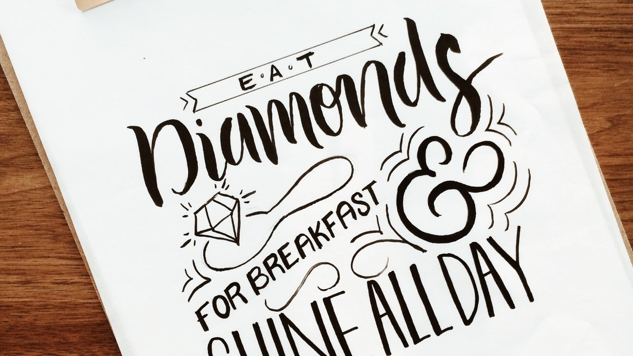 Diamonds for Breakfast - student project