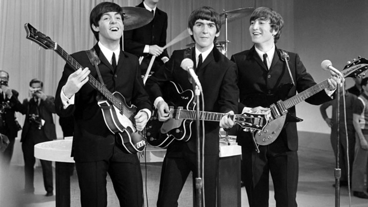 AE character animation: The Beatles - student project