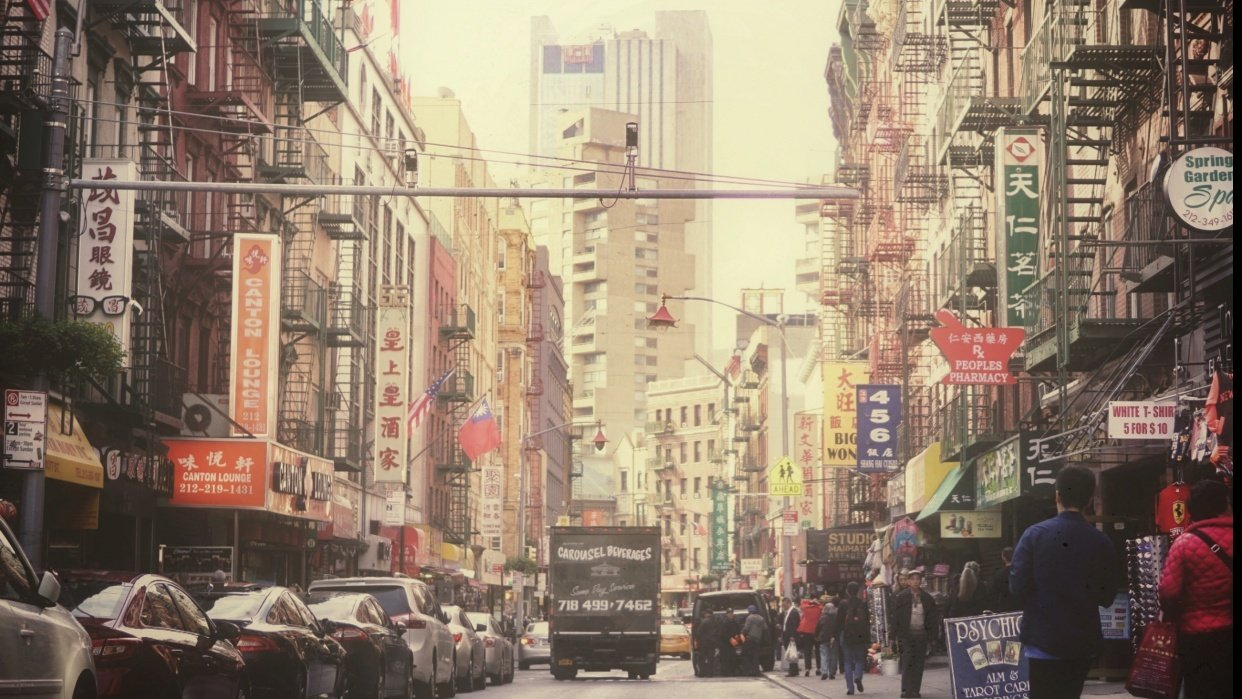 A Stroll in Chinatown - student project