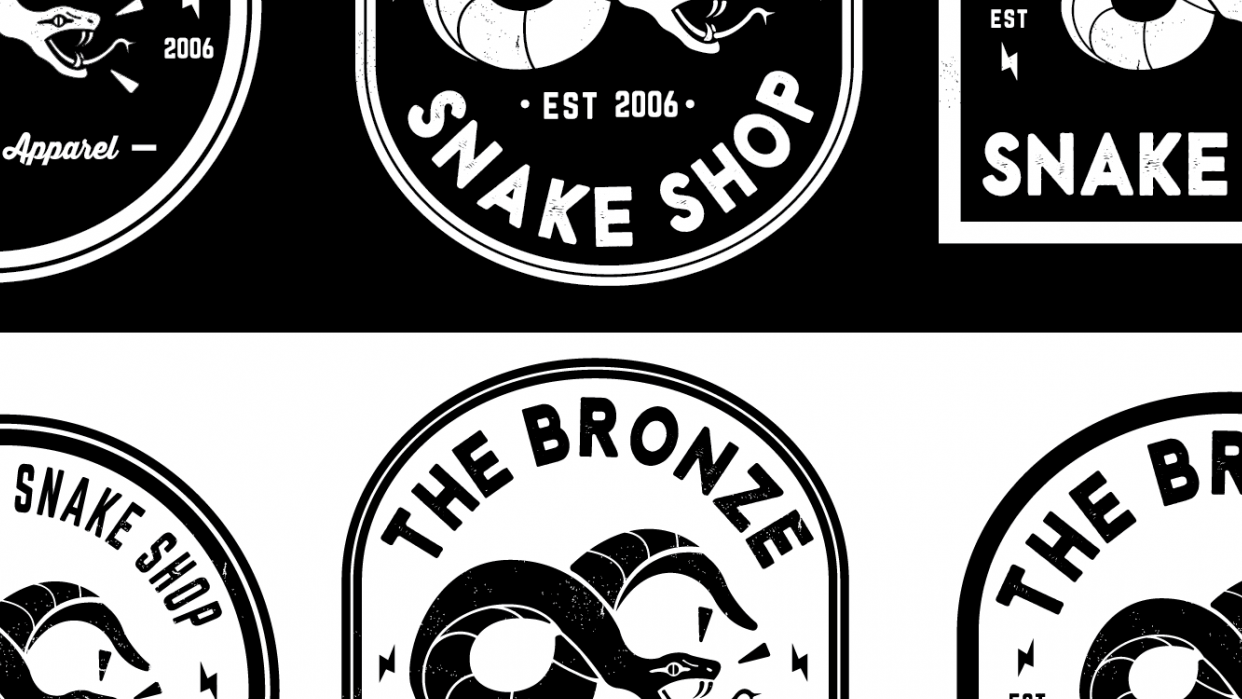 the bronze snake shop - student project
