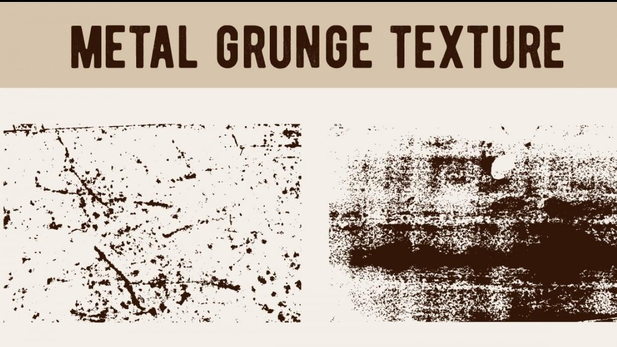 Mini Metal Grunge Texture Set  - student project