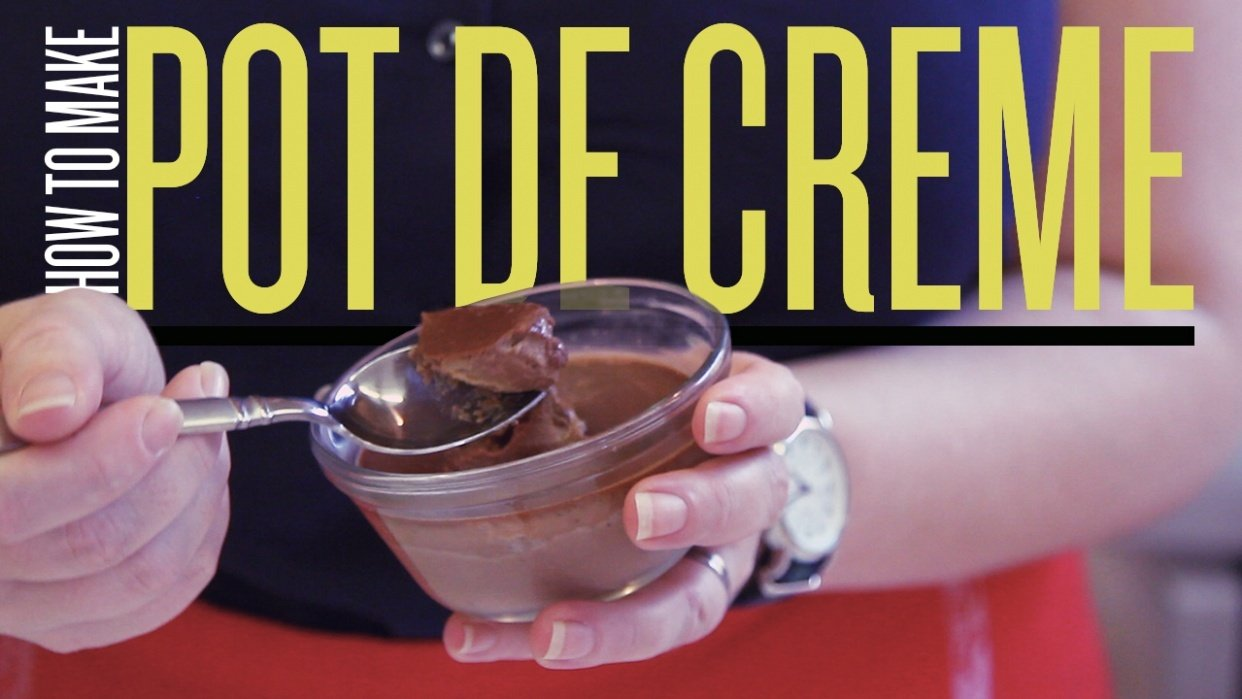 Creating With Confidence: How To Make Pot De Creme - student project