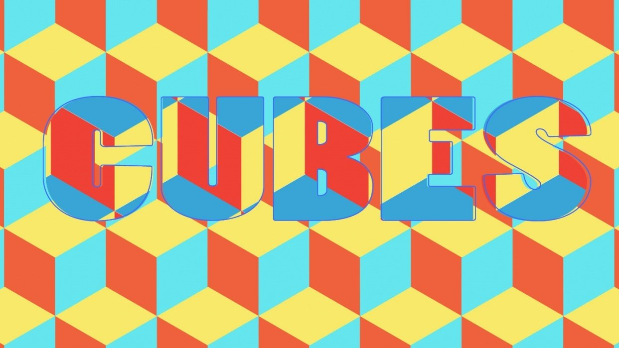 Illustrator CC and C- Cute Cubes Class - student project